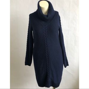 Banana Republic Turtle Neck Sweater Dress